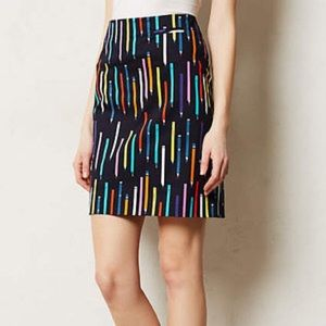 Anthropologie Elevenses Pencil Skirt